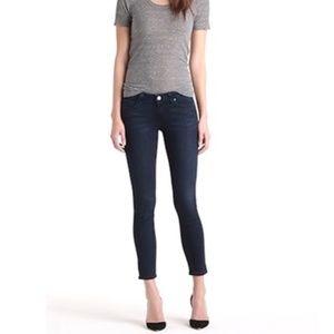 """Paige Verdugo Crop Skinny Jeans Dark Wash 26   26"""""""
